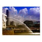 Merlion, Singapore Postcard
