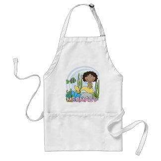 Mermaid - African American Tshirts and Gifts Apron