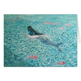 Mermaid against the Tide Card