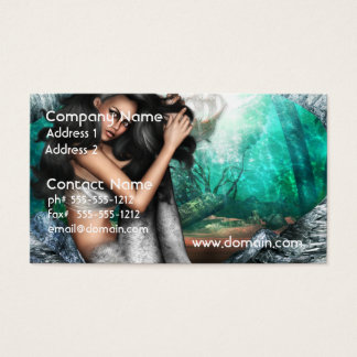 Mermaid Allure Business Cards
