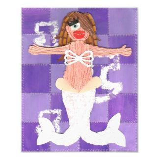 Mermaid Anchor Poster Photograph