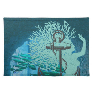 Mermaid and Anchor Placemat