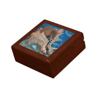 Mermaid and Big Seashell Gift Box