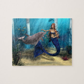 Mermaid and Dolphin Puzzles