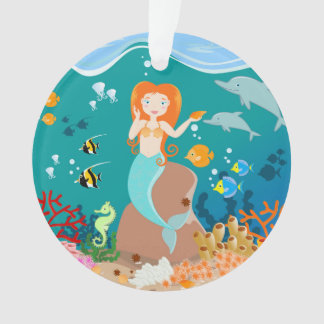 Mermaid and dolphins birthday party