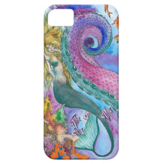 Mermaid and Kraken Phone Case