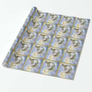 Mermaid and the Moon Gift Wrap