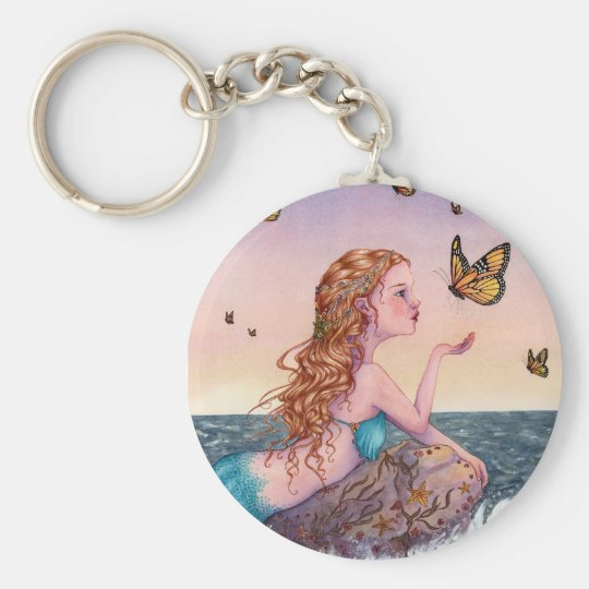 Mermaid Art Keychain - Bring Me Tidings