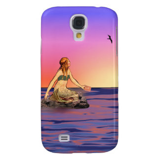 Mermaid at sunset galaxy s4 case