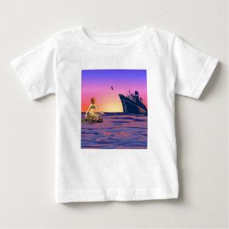Mermaid at sunset tshirt