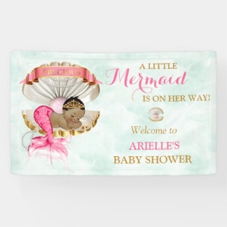 Mermaid Baby Clam Shell Tiara African American