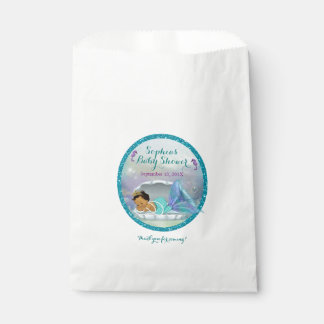 Mermaid Baby Favor Bags MEDIUM 136