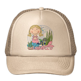 Mermaid - Blond Tshirts and Gifts Cap