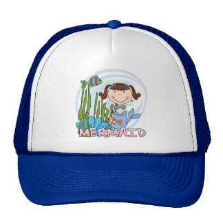 Mermaid - Brunette Tshirts and Gifts Cap