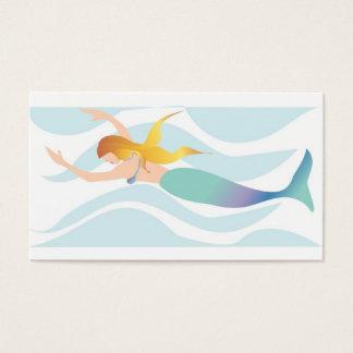 Mermaid Business Cards