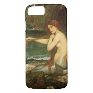 Mermaid by JW Waterhouse, Victorian Mythology Art iPhone 8/7 Case