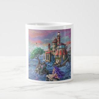 Mermaid Castle Jumbo Mug