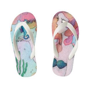 2a1f0916b48c Sea Mermaid Flip Flops   Sandals