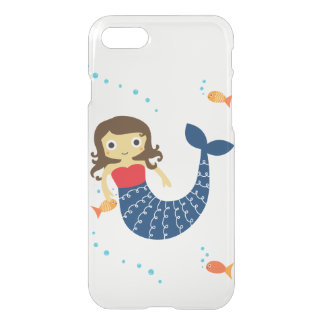 Mermaid Clear iPhone 7 Case