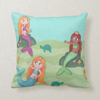 Mermaid cushion