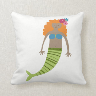 Mermaid Decorative Throw Cushion