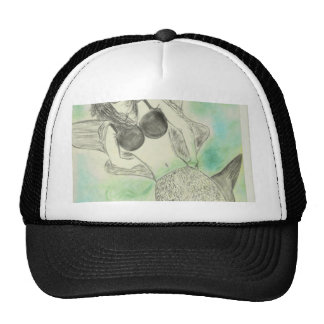 Mermaid Design Women Clothing Cap
