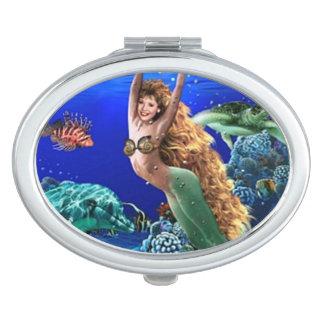 Mermaid, Dolphin, Turtle and Fish Vanity Mirror