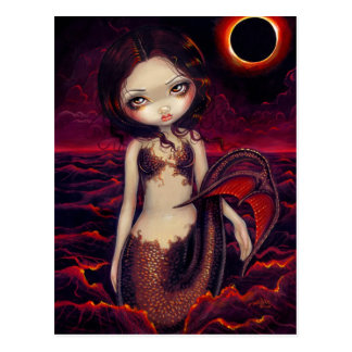 Mermaid Eclipse Postcard