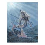 Mermaid Explorer Postcard