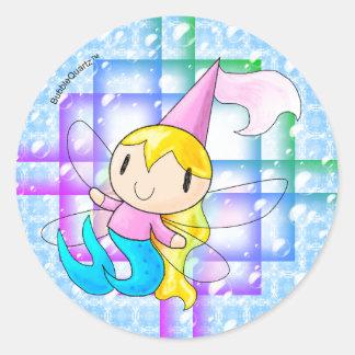 Mermaid fairy princess stickers version 2