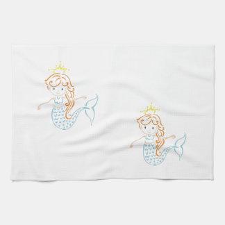 Mermaid Fairy Tea Towel