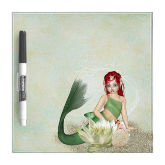 Mermaid Fantasy Dry Erase Board