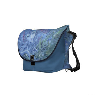 Mermaid Fantasy Messenger Bag - La Mer