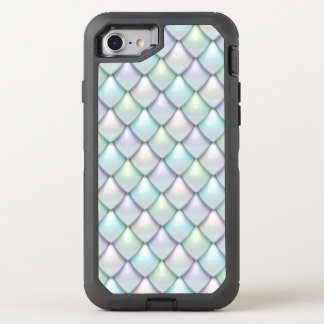 Mermaid Fantasy Scale Pattern OtterBox Defender iPhone 7 Case