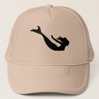 Mermaid fantasy trucker hat