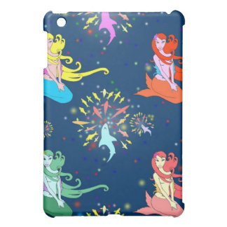 Mermaid Fireworks iPad Mini case