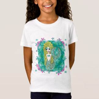 Mermaid Flowers T-Shirt