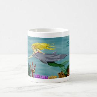 mermaid friend mug