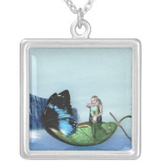 Mermaid Gondola Personalized Necklace