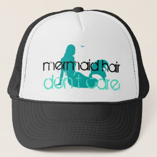Mermaid Hair Don't Care | Tropical Beach Vacation Trucker Hat