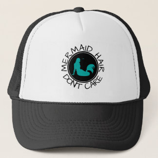 Mermaid Hair Nautical | Funny Vacation Cruise Ship Trucker Hat