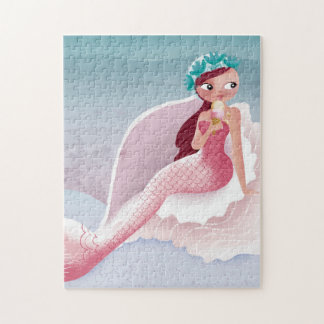 Mermaid Ice Cream Puzzle