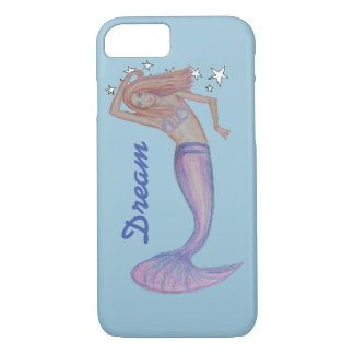 Mermaid in Paradise iPhone 7 Case
