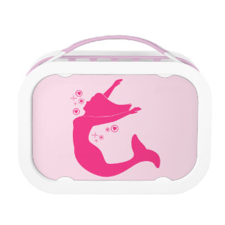 Mermaid in Silhouette Lunch Box