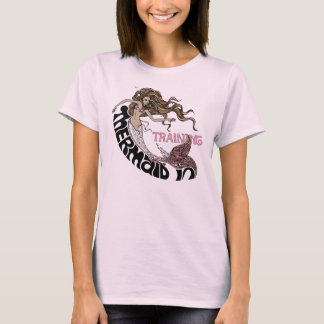 Mermaid in Training (brunette) T-Shirt