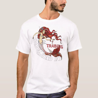 Mermaid in Training (redhead) T-Shirt