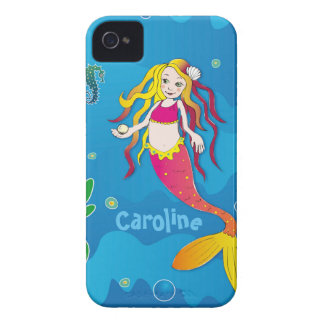 Mermaid iPhone 4 & iPhone 4S, Barely There Case-Mate iPhone 4 Case