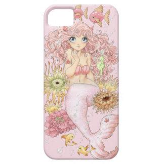 Mermaid iPhone 5 /  case (pastel pink)