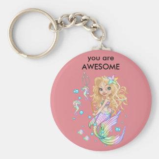 Mermaid keychain