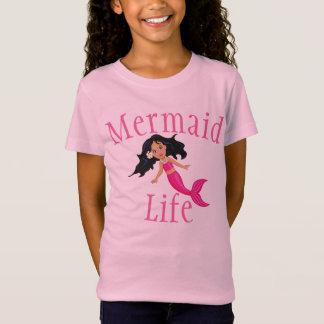 Mermaid Life Girls T-Shirt